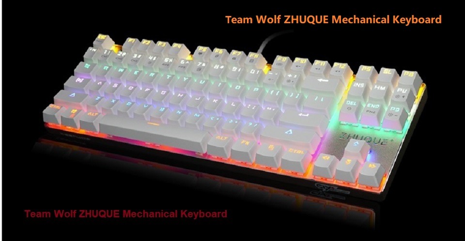 team wolf ZHUQUE mechanical keyboard